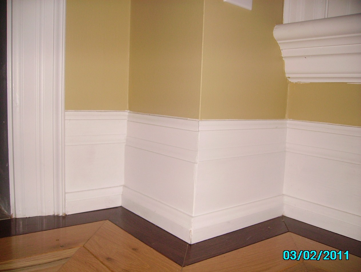 Laminate Flooring: Baseboard Trim Laminate Flooring